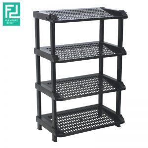 2288A 4 tier plastic shoe rack