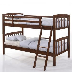 5829 solid wood bunk bed doubke decker