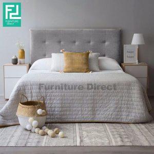 BEKKER king size bedframe- grey