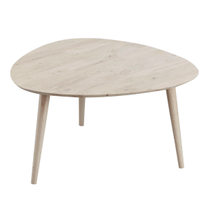 BETTY full solid wood triangle coffee table