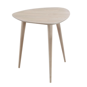 BETTY full solid wood triangle side table