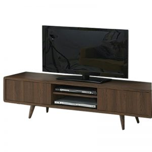 CONSTANCE 5ft TV cabinet-walnut