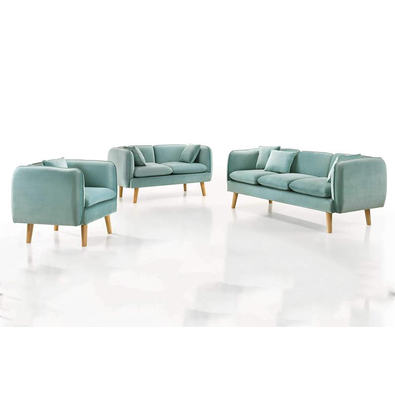 Everlyn Custom Made 1 2 3 Fabric Sofa