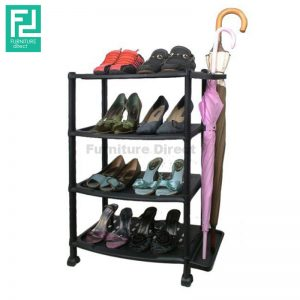 FSS164 SHOE RACK WITH UMBRELLA STAND