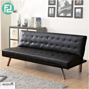 JULIA PU adjustable 3 seater sofa bed