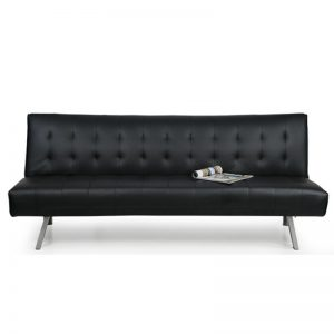 JULIA PVC 3 seater sofa bed