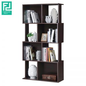 JAYDEN bookshelf divided-wenge