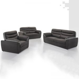 KENZO custom made 1+2+3 fabric sofa set