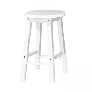 "POLO 18"" full solid wooden stool-4 colours"