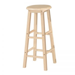 "POLO 29"" full solid wooden stool-4 colours"