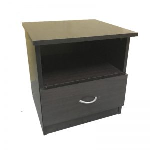 61400 Bedside Table- Wenge