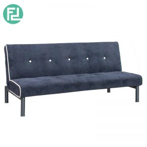FABLE velvet fabric sofa bed- dark blue