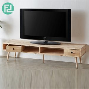 BUSAN full solid wood 5ft TV cabinet