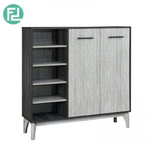 CHESTER 2 door with rack multipurpose cabinet
