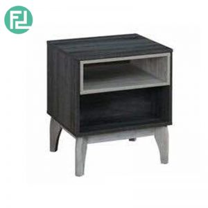 CHESTER 1 Drawer Side Table Bedside Table-Grey