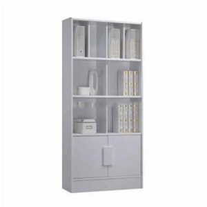 LAGOS filling cabinet bookcase with door-2 colors