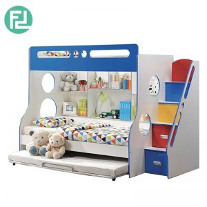 HAPRPER kid space saver bunk bed