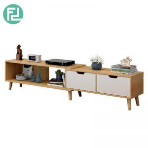 COPENHAGEN 6ft expandable TV cabinet-maple