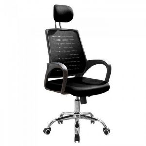 DELUXE high back breathable mesh office Chair-black