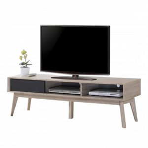 FIGO scandinavian 6ft TV cabinet-Oak