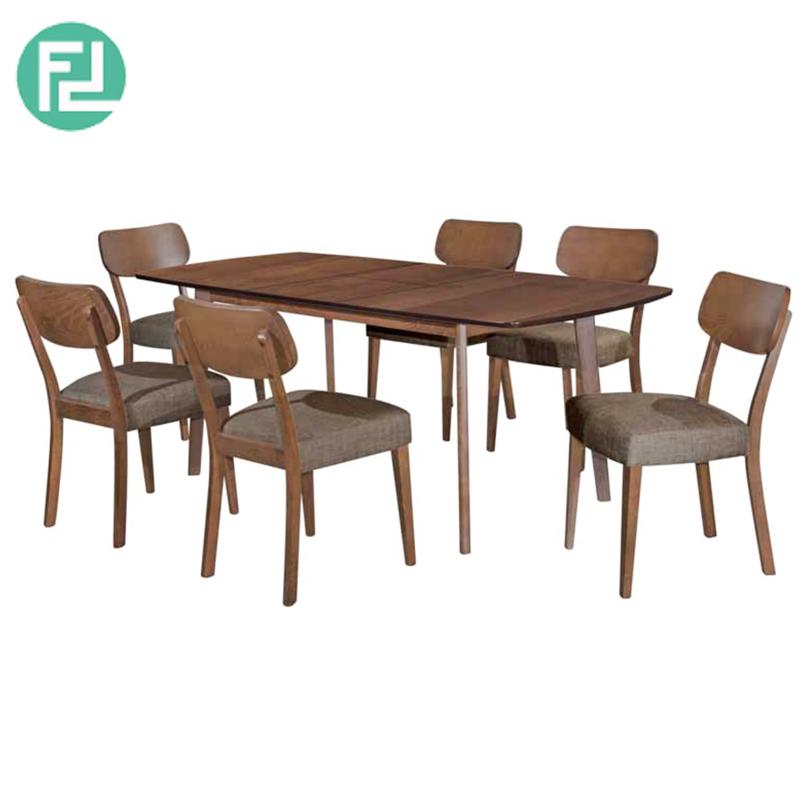 Peachy Graff Tiffany Solid Beech Wood 6 Seater Extendable Dining Set Frankydiablos Diy Chair Ideas Frankydiabloscom