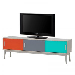 HAMINA scandinavian 6ft TV cabinet