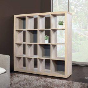 HELSINKI scandinavian divider bookcase DV-0001