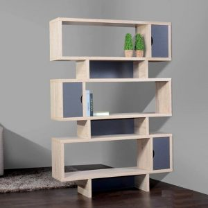 HELSINKI scandinavian divider bookcase DV-0005