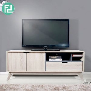 Clearance- HELSINKI 5ft TV cabinet-hana oak
