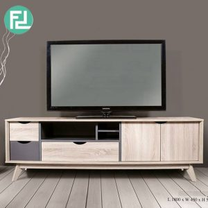 HELSINKI 6ft TV cabinet-hana oak
