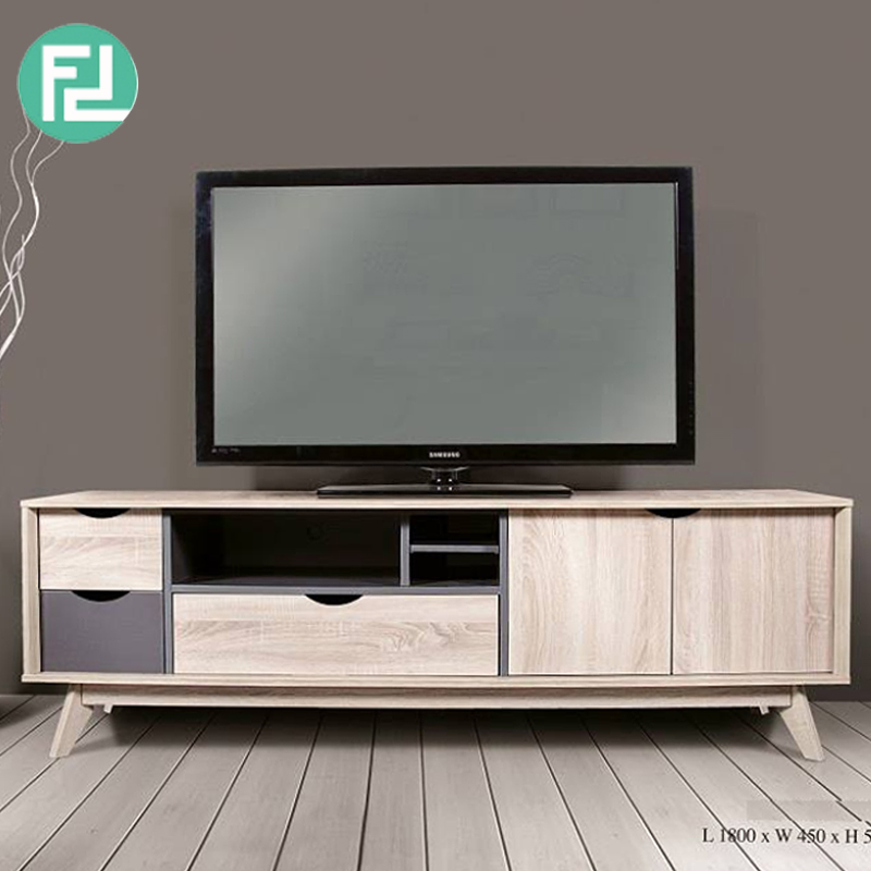 Helsinki 6ft Tv Cabinet Hana Oak Furnituredirect Com My