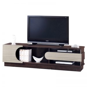 LUSAKA 6ft TV cabinet-wenge