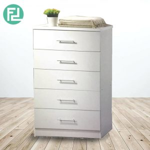 LIBERTY 5 Drawer chest- white