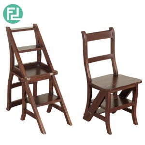 ASCENT solid wood ladder chair