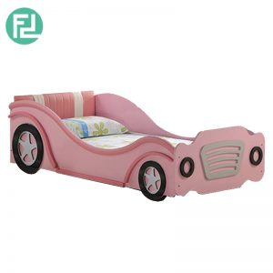 PRINCESS car kids bed-pink