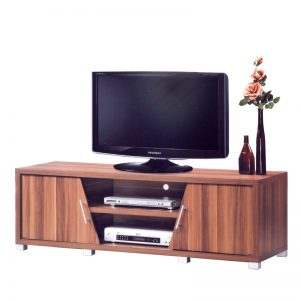 TRIPOLI 5ft TV cabinet-walnut