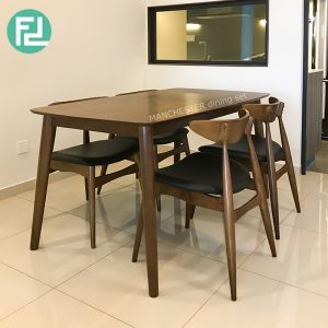 MANCHESTER solid wood 4 seater dining set