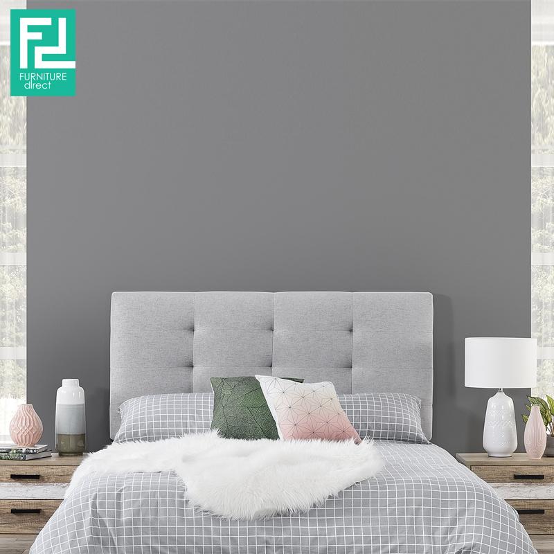 c9a9fbec88dd ANYA single size waterproof fabric divan bed-grey - FurnitureDirect ...