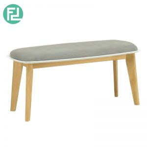 MONTANA fabric seat bench-grey