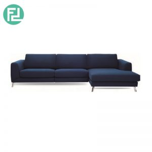 GRAYSON 3 seater L shaped fabric sofa-Left chaise