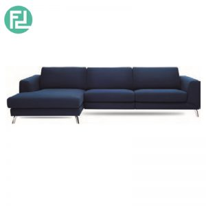 GRAYSON 3 seater L shaped fabric sofa-right chaise