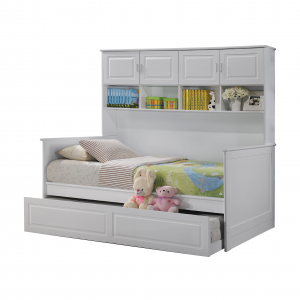VIRGINIA daybed with trundle-white