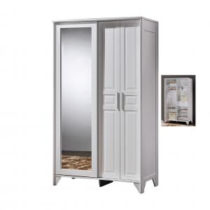 VIRGINIA 4ft wardrobe with mirror-white