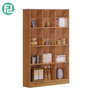 BS555A 3X4 cube bookcase-antique oak