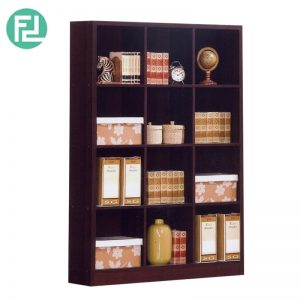 BS563WG 3x4 cube bookcase-wenge