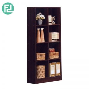 BS562WG 2x4 cube bookcase-wenge