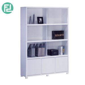 BS702005WH glassdoor bookcase filling cabinet