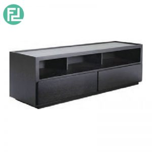 CENI 6ft TV cabinet-black ash