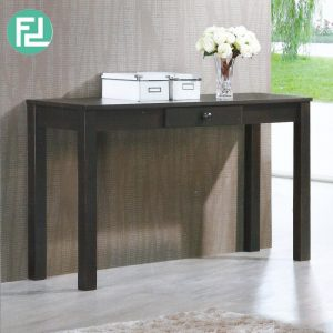GL-UV 4ft solid wood console table-Cappucino