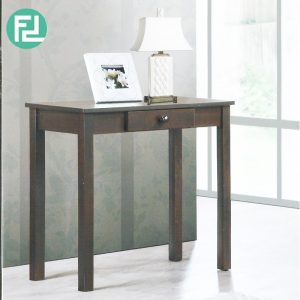 GL-UV 80cm solid wood console table-Cappucino